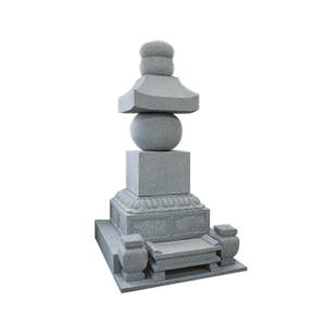 五輪の見本。塔平安時代から使われる仏塔
